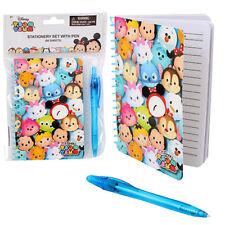 Tsum Tsum Disney Writing Notebook Diary Journal Autograph Book Note Pad w Pen
