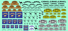 Decals CAMEL Tabac decal 1/43 1/32 1/24 1/18 décalcomanie