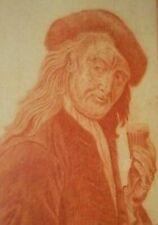 RARE SIGNED W.G.D 1788 18TH CENTURY AMERICAN EUROPEAN MAN PORTRAIT ART ANTIQUE