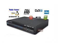 Dekoder Nbox Enigma 2 Dreambox disque dur 250 Go double tuner NC Polsat NA 6 miesiecy libre
