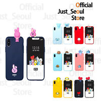 BTS BT21 Figure Jelly Phone Case Cover Official MD+Freebie+Free Tracking Kpop