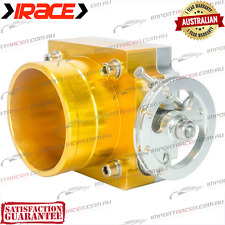 80MM THROTTLE BODY IRACE GOLD UNIVERSAL Anodised Aluminium 1 Year Warranty