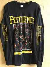 Pestilence Long sleeve L shirt Dismember Death metal Gorguts Autopsy Obituary