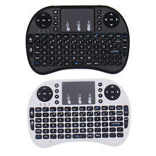 2.4GHz Mini i8 Wireless QWERTY Keyboard Mouse with Touchpad for PC Smart TV