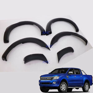 """Fit 12-15 Ford Ranger T6 Fender Flare 6"""" Wheel Arch Off-Road Wildtrack Px"""