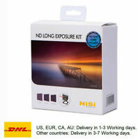 NiSi 100mm ND Neutral Density Filter kit ND Long Exposure Kit ND8+ND64+ND1000