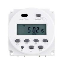 Digitale Programmierbare Zeitschaltuhr Schaltuhr 12V 24V 16A THC-109A Programme