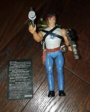 RAMBO The Force of Freedom Fire Power Rambo Figure Complete