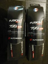 PAIR HUTCHINSON FUSION 5 GALACTIK TIRES 700C 25MM NEW