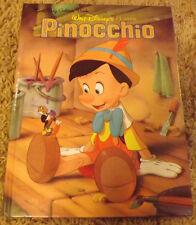 Pinocchio by Eugene Bradley Coco / Ron Dias (1990) a Big Golden Book 12109