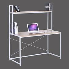 Computertisch Schreibtisch Bürotisch PC-Tisch Laptop mit Bücherregal TSB09hei
