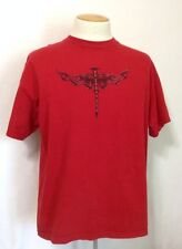 Orange County Choppers OCC Red Tee 100% Cotton Men's XL Short Sleeve