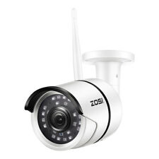 ZOSI 1080P Wireless WIFI IP Camera Onvif Outdoor Security Bullet IR Night Vision