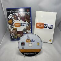 Eye Toy Play Game PlayStation 2  PS2 Game PAL Free P&p Complete With Manual