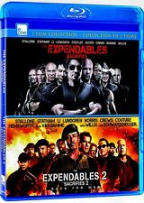 NEW BLU RAY - EXPENDABLES + EXPENDABLES 2 - SYLVESTOR STALLONE, CHUCK NORRIS