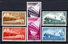 Espagne 1958 Yvert n° 921 à 926 chemins de fer neuf ** 1er choix