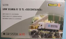 Faller 161598, Spur H0, Faller Car System LKW Scania R13 TL mit Maersk Container