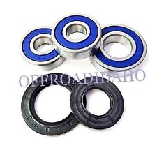 REAR AXLE WHEEL BEARING SEAL KIT KAWASAKI 1981-1982 KZ1000K LTD, KZ1000M CSR