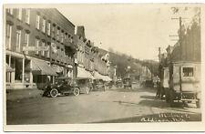RPPC NY Addison Main Street Cars Trucks Feed Store Steuben County