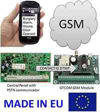 Gsm Alarm Communicator Contact Id To Sms Converter iButton Remote controller