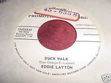 EDDIE LAYTON - DUCK WALK / DOODLES - 45 PROMO MERCURY