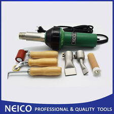 Roofing Hot Air Welding Tool Kits Of Weld Heat Gun With Seam Rollers & Nozzles