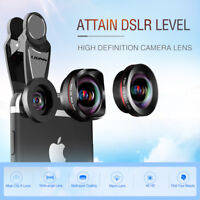 3 in 1 Photo Clip Wide Angle Fisheye Macro Universal Lens iPhones For Smartphone