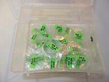 lotto 22 vetri minerali cupola bombati orologi watch glass dome da 16 a 29 mm