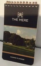 The Mere Golf Club Course Planner