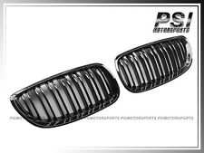 2007-2010 BMW E92 Shiny Black Front Grille Kit For 328i 335i Coupe Convertible