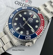 Orient New Pepsi Triton Automatic 200M Sapphire Crystal Mens Watch RA-AC0K03L10B