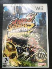 Wii & Wii U - Mario Strikers Charged Football **New & Sealed** Official UK Stock