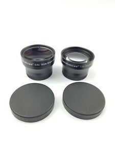 Lensbaby Lensbabies 0.6x Wide Angle and 1.6x Telephoto Accessory Lenses - 37mm