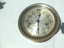 "vintage Seth Thomas Round Clock 7"" Face Mechanism"