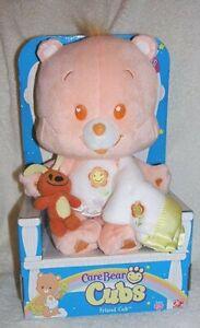 "Care Bear Cubs Friend Cub 2005 New in Box Plush 12"" w/ Blanket & Small Animal"