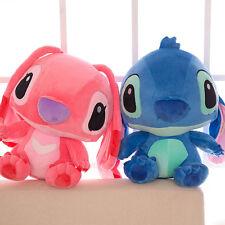 "14"" Lilo Stitch with SCRUMP 35cm Soft Stuffed Plush Doll Toy Loose Best Gift"