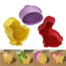 Easter Cookie Cutter Plunger Cake Pastry Baking Mould Fondant Sugar Craft Mold