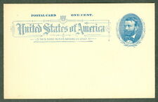 US #UX11 5¢ blue, unused (not preprinted), VF
