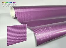 Purple carbon fiber (3 layer texture) gloss tech art 15ft x 5ft vinyl car wrap