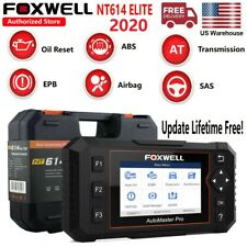2020 Auto Scanner OBD2 Diagnostic Car Code Reader Oil EPB FOXWELL NT614 Elite US