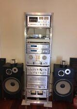 Vintage Pioneer spec stereo system with pioneer hpm 1500 speakers