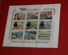 1995  Avvenimenti Storici della 2° Guerra Mondiale Foglietto  9v   MNH**  Italia