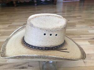 New RESISTOL Jason Aldean Amarillo Western Cowboy Hat Size: 7 1/4