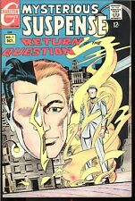 THE QUESTION! MYSTERIOUS SUSPENSE #1 CHARLTON 1968 RORSCHACH INSPIRATION