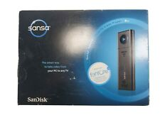 NEW SanDisk Sansa TakeTV 8GB Video Player PC to TV (RCA/S-Video) ~10 Hours