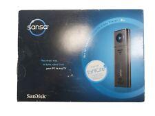 NEW SanDisk Sansa TakeTV 8GB Video Player PC to TV (RCA/S-Video) ~10 Hours