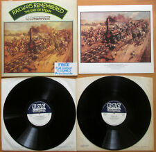 Railways Remembered The End Of Steam 2xLP Gatefold EXCELLENT BBC Records REF 190