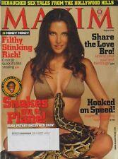ELSA PATAKY August 2006 MAXIM Magazine #104 DIORA BAIRD / KRISTIN CAVALLARI