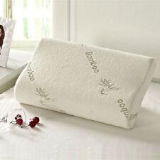 Bamboo Memory Foam Pillow Orthopedic Comfortable Twin Queen King Sleep Pillows N