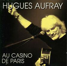 CD HUGUES AUFRAY  au casino de Paris, 1996 / 2 CDs